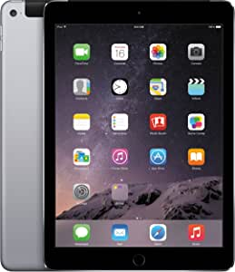 Apple iPad Air 2 with Facetime Tablet - 9.7 Inch, 128GB, 4G LTE, Space Gray