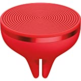 Logitech ZeroTouch Air Vent Car Mount with Amazon Alexa, for Android Phones 5.0 and above - Red
