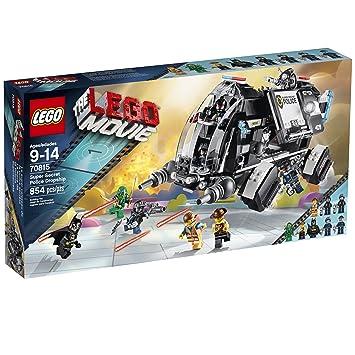 amazon com lego movie 70815 super secret police dropship building
