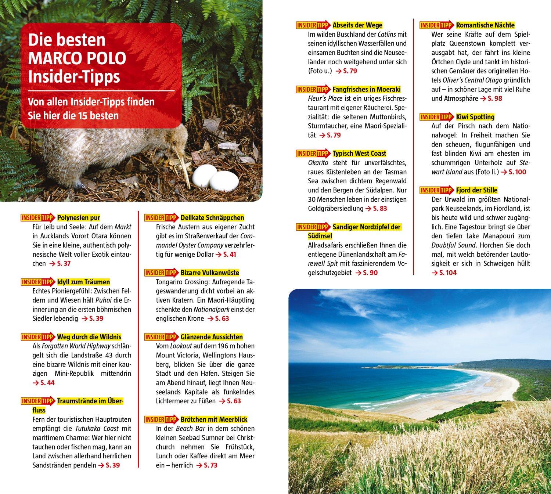 marco polo reisefuhrer neuseeland reisen mit insider tipps inklusive kostenloser touren app update service