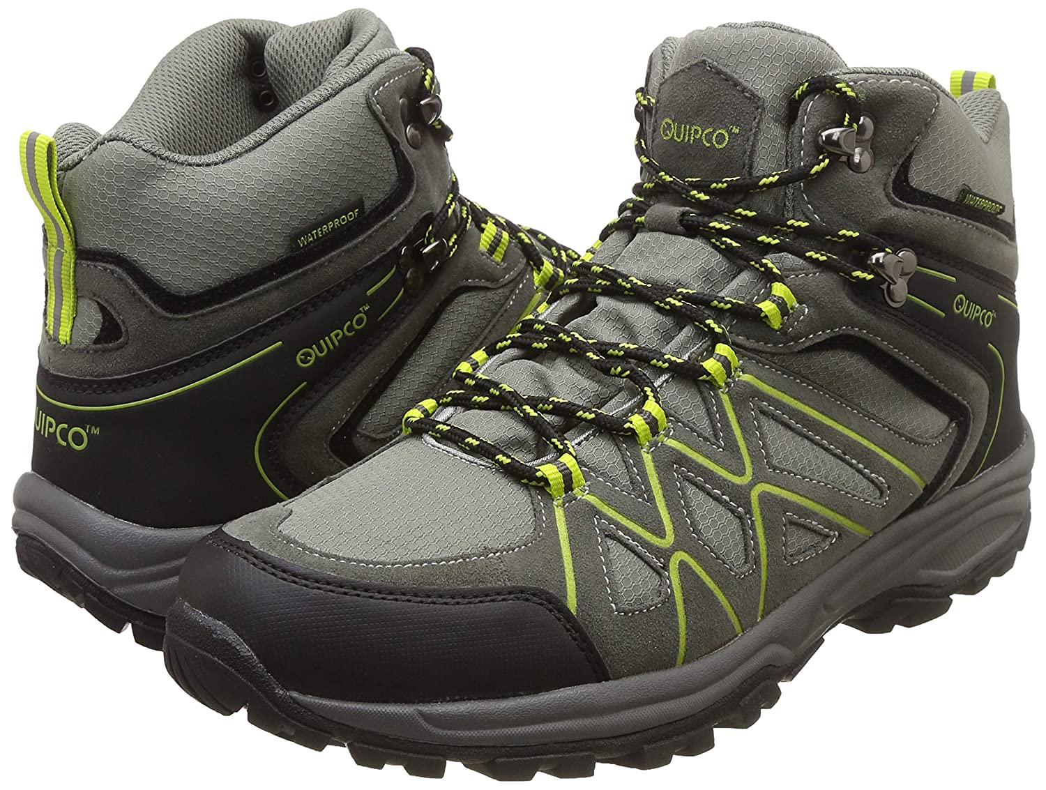 90e936d2a1183f QuipCo Kanamo Waterproof Hiking Shoes: Amazon.in: Sports, Fitness & Outdoors