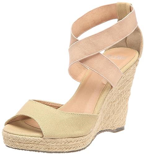 1a1f1727f339 B-Two Melbe, Sandales femme - Camel, 41 EU: Amazon.fr: Chaussures et ...