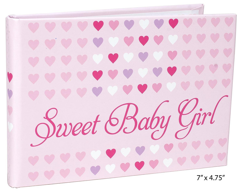 Malden 7071-16 Designs Sweet Baby Girl Brag Book, 1-Up, 40-4 X 6, Pink Malden International Design