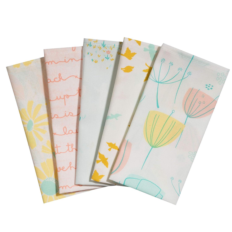 Taschent/ücher aus Stoff waschbare 5 Taschent/ücher Fr/ühlingswind Made in Germany wiederverwendbare /Öko Stoff-Taschent/ücher aus Baumwolle