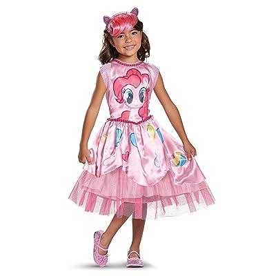 Pinkie Pie Movie Classic Costume, Pink, Medium (7-8): Toys & Games