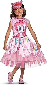 Pinkie Pie Movie Classic Costume, Pink, Small (4-6X)
