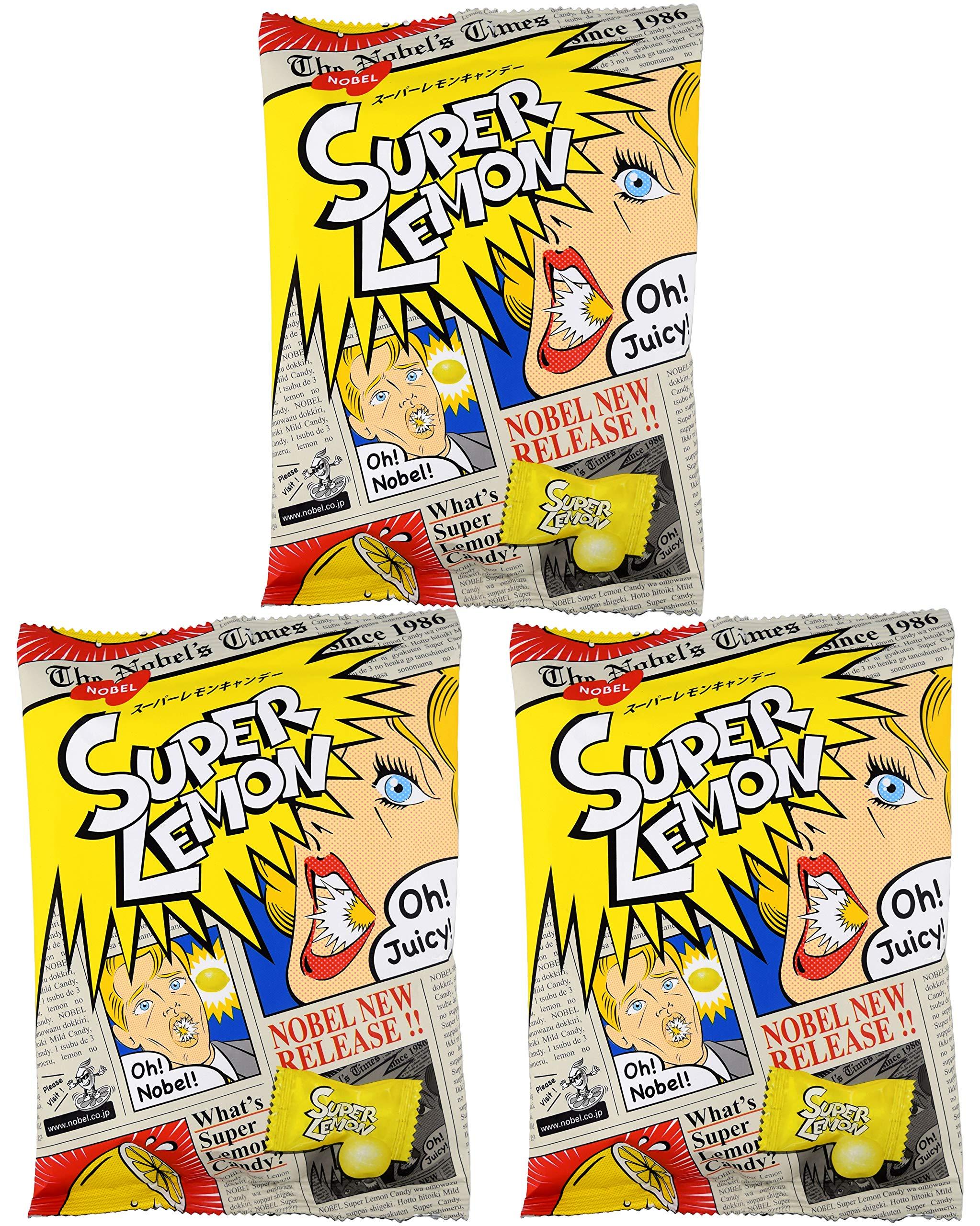 Nobel Super Lemon Candy 3.1oz (3 Pack) by Nobel®