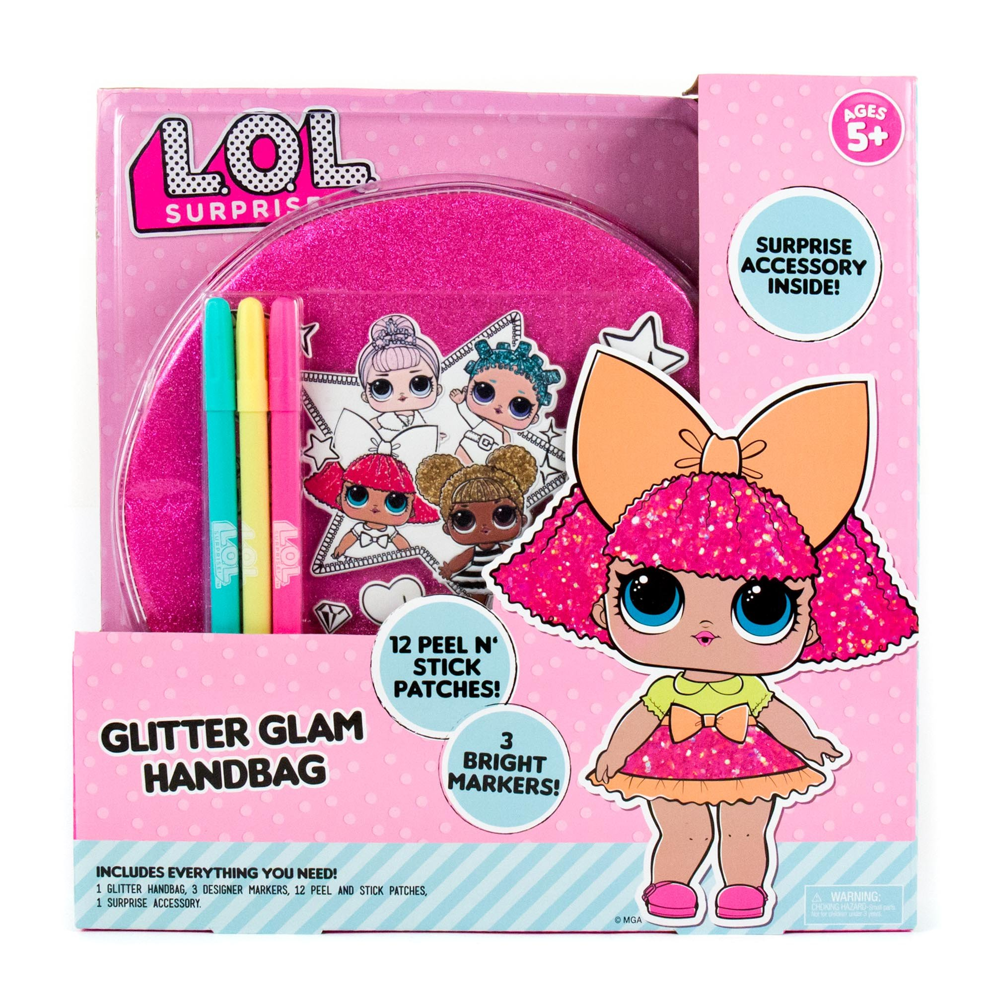 L.O.L. Surprise Glitter Glam Bag by Horizon Group USA