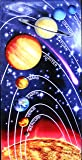 Solar System Design Beach Towel