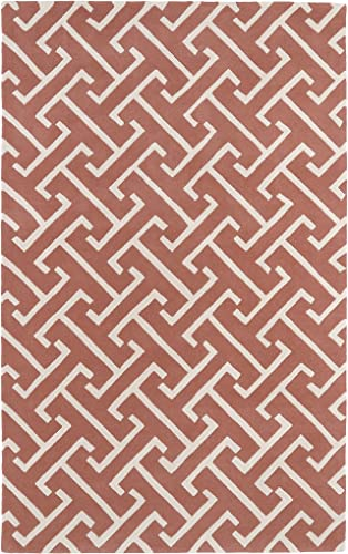Revolution Collection Hand Tufted Pink Rug 9 6 x 13