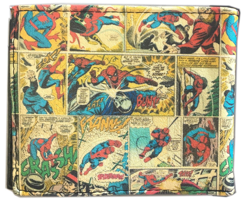 Amazon.com: Marvel Comics Spiderman Cartera – Spider-man ...