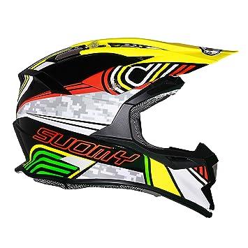 Suomy Casco Motocross Alpha, Pixel, XS