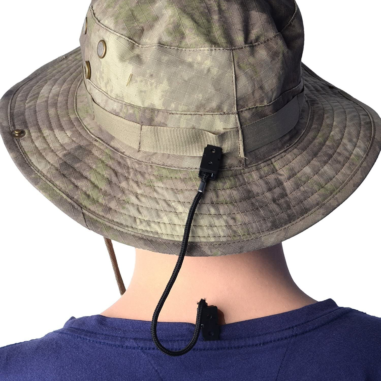BCP 4pcs Black Color 4pcs Burgundy Color Hat Clip//Cap Retainer for Fishi.. New