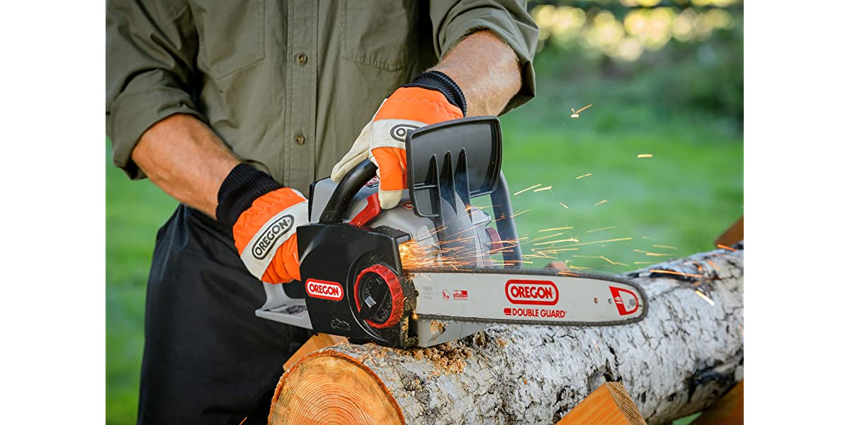 Oregon Cordless 16-inch Self-Sharpening Chainsaw