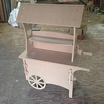 Carros de caramelo carro de boda dulces carrito para bautizo, ideal para celebraciones