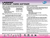 Ultra Fresh UFPFSL5GL Platinum Lavender Fabric