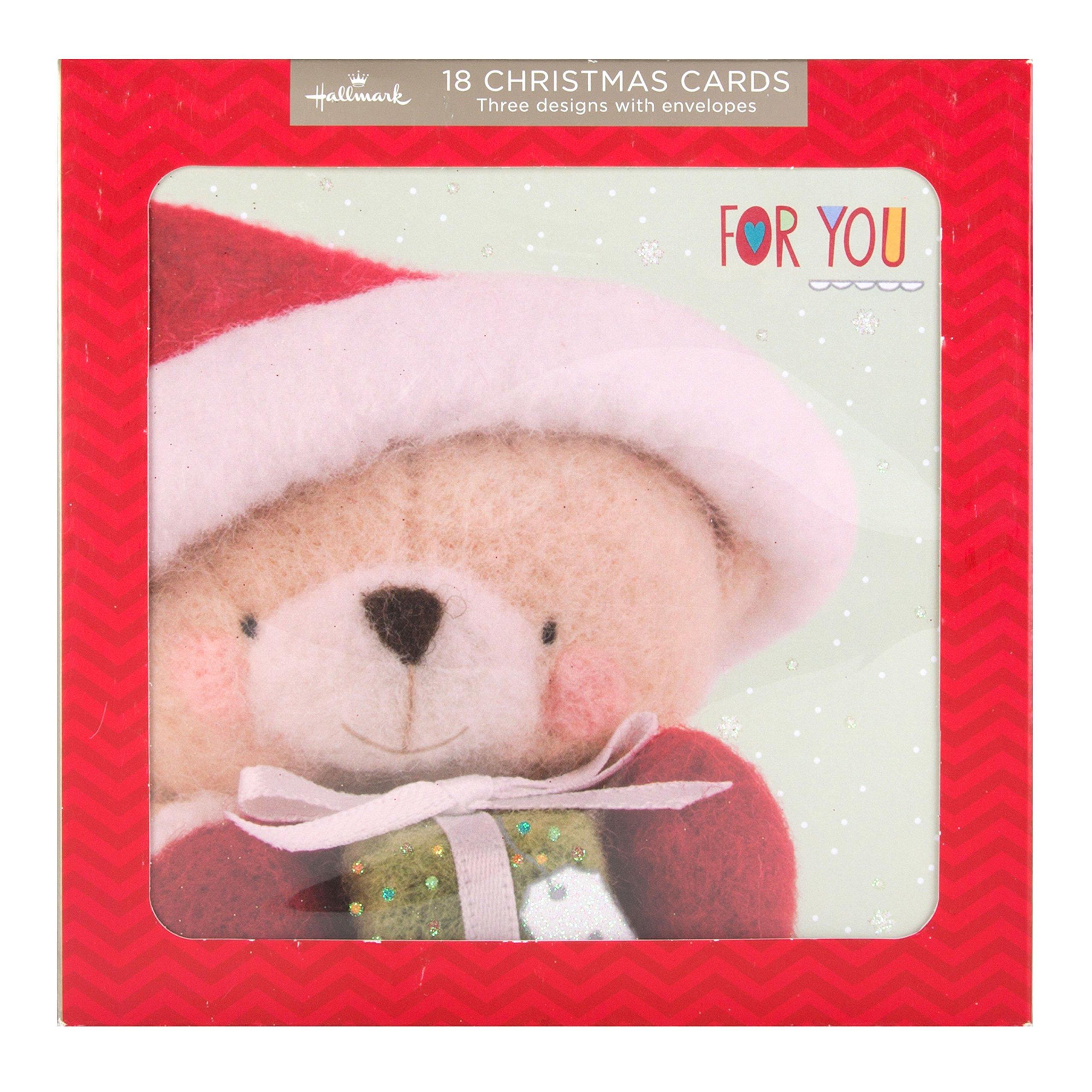 Hallmark Bumper Christmas Card Pack Forever Friends 18 Cards 3 Designs Buy Online In Guernsey At Desertcart