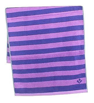 Vossen Bath Towels, 100% Cotton, Sunrise Violet, 2 Handtücher 50 X 100