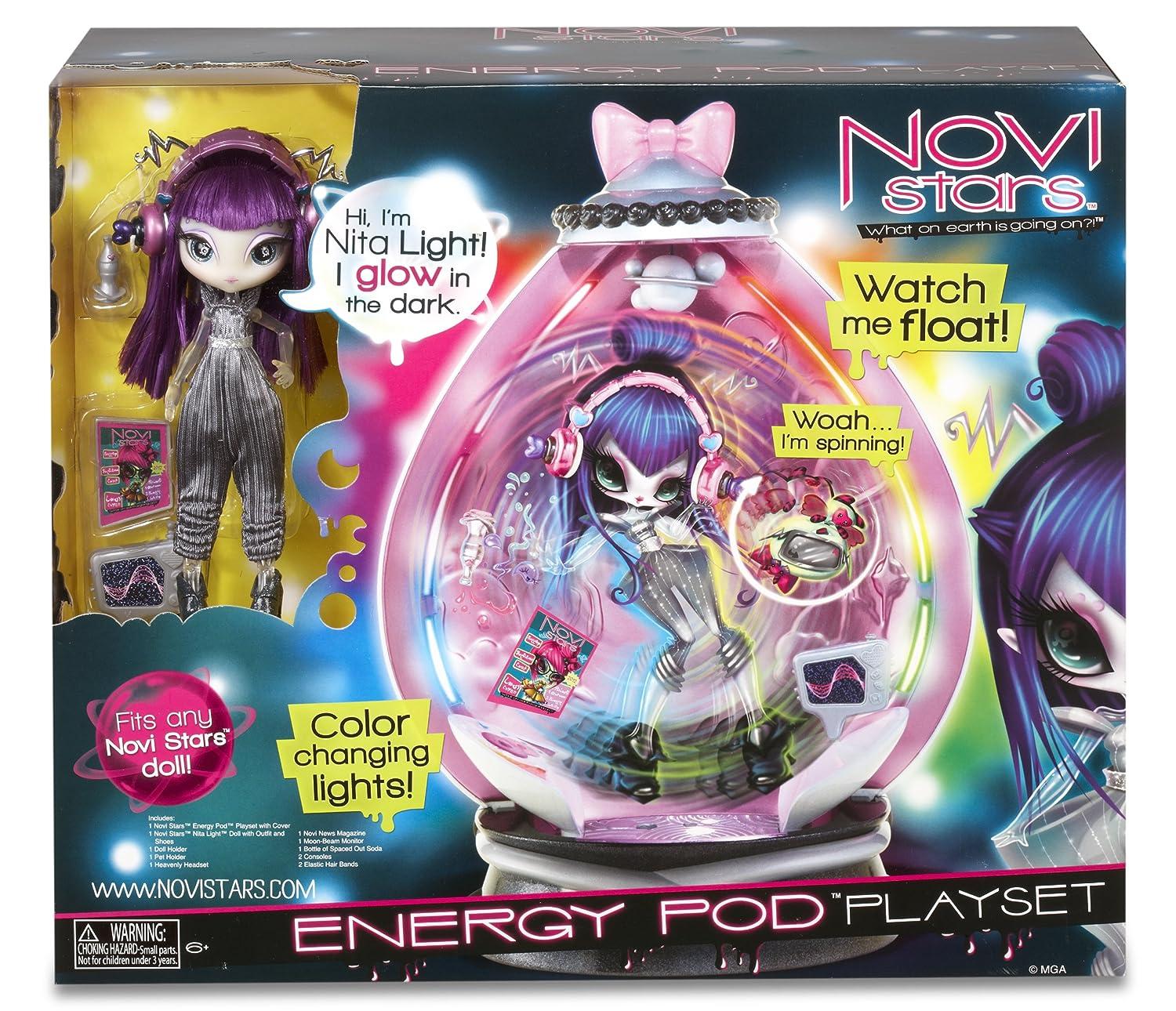 Novi Stars 1987 - Energy Pod con bambola esclusiva