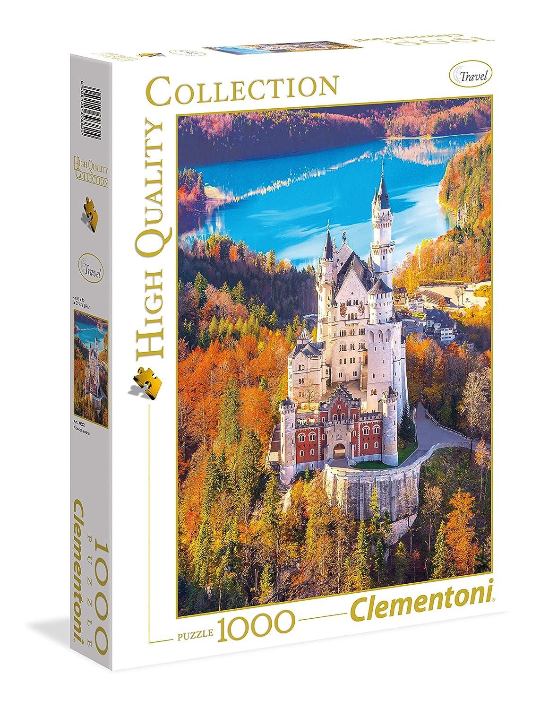 1000 Pieces Neuschwanstein 39382 Collection Clementoni