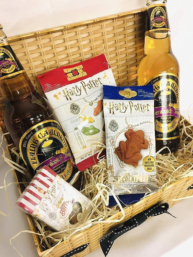 Harry Potter Sweet Hamper - Bertie Botts Beans - Chocolate Frog ...