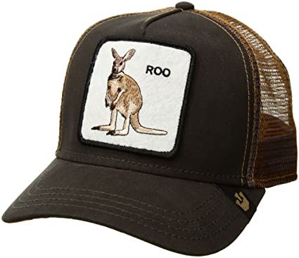 ad138b53 Goorin Bros. Men's Animal Farm Snap Back Trucker Hat, Brown Kangaroo, One  Size