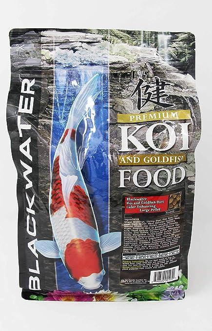 Premium Koi and Goldfish Color Enhancing Fish Food Medium 5 lb  by  Blackwater Creek