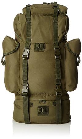 Miltec 14023001 Airsoft - Mochila (65 L), diseño Militar, Color Verde: Amazon.es: Deportes y aire libre