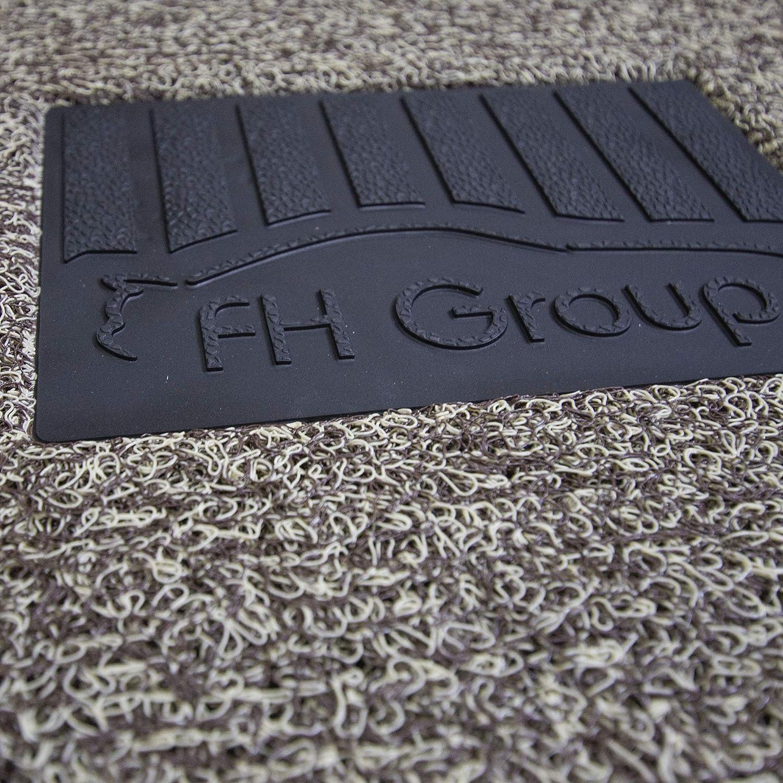 Full Set Semi-Custom Premium FH Group F11307BEIGE Tan All Season Floor Mat