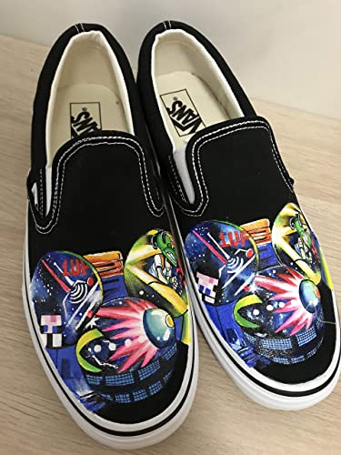 Amazon.com Deadmau5 Head Vans Hand Painting Shoes Sneakers