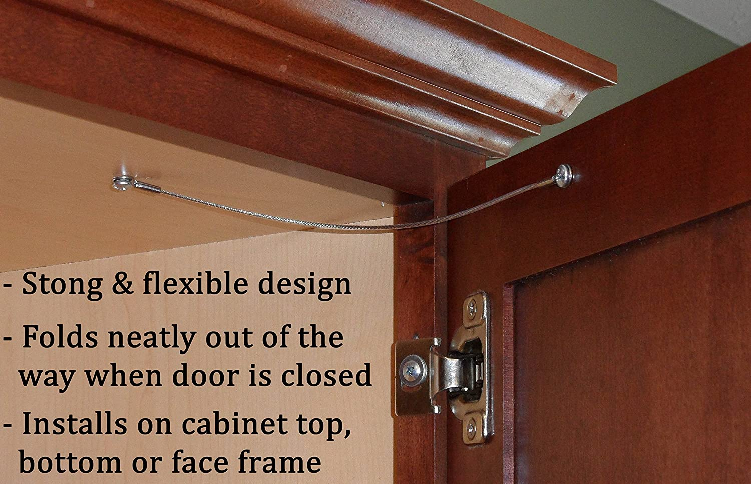 How To Install Cabinet Door Hinge Restrictor Bruin Blog