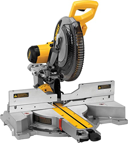 DEWALT 12-Inch Sliding Compound Miter Saw, Double Bevel DWS780