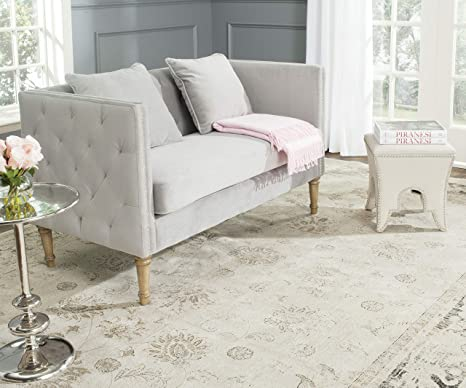 Amazon.com: Safavieh Home Collection Sarah Gris y café ...
