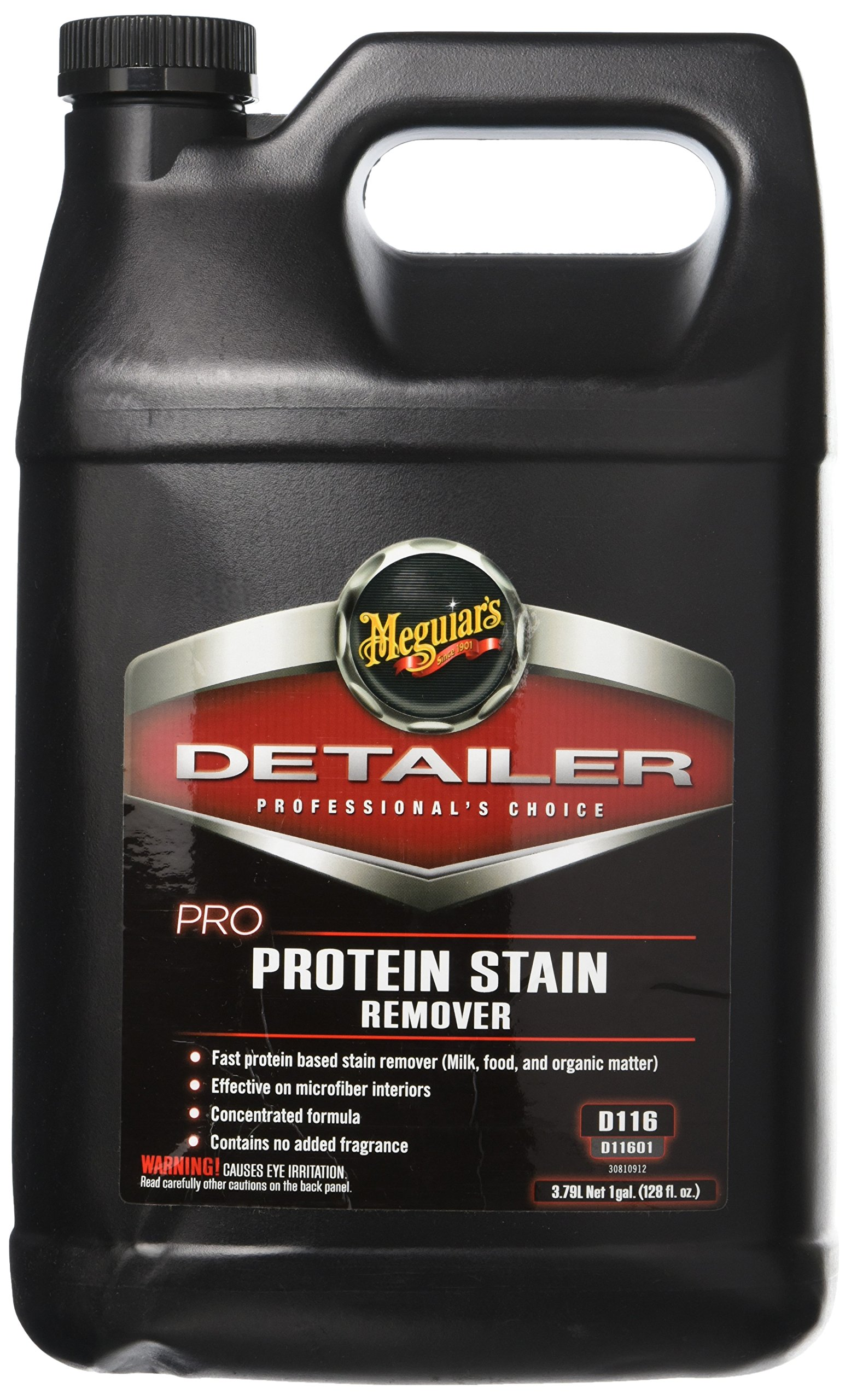 Meguiar's D11601 Pro Protein Stain Remover, 1 Gallon, 1 gallon, 1 Pack by Meguiar's