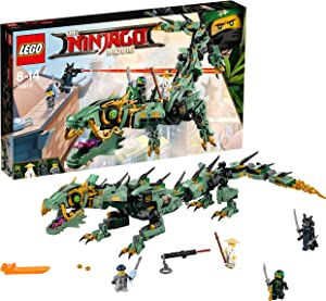 LEGO Ninjago Green Ninja Mech Dragon 70612 Building Kit (544 Piece)