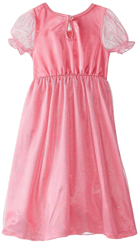 Barbie Little Girls Short Sleeve Dressy Gown