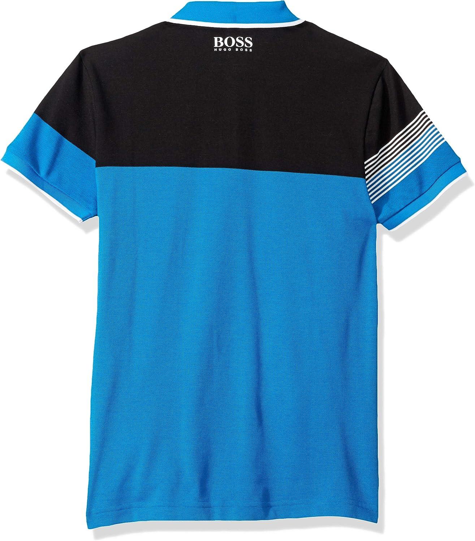 Hugo Boss Hombre 50389095 Manga Corta Camisa Polo - Azul - 3X-Large: Amazon.es: Ropa y accesorios