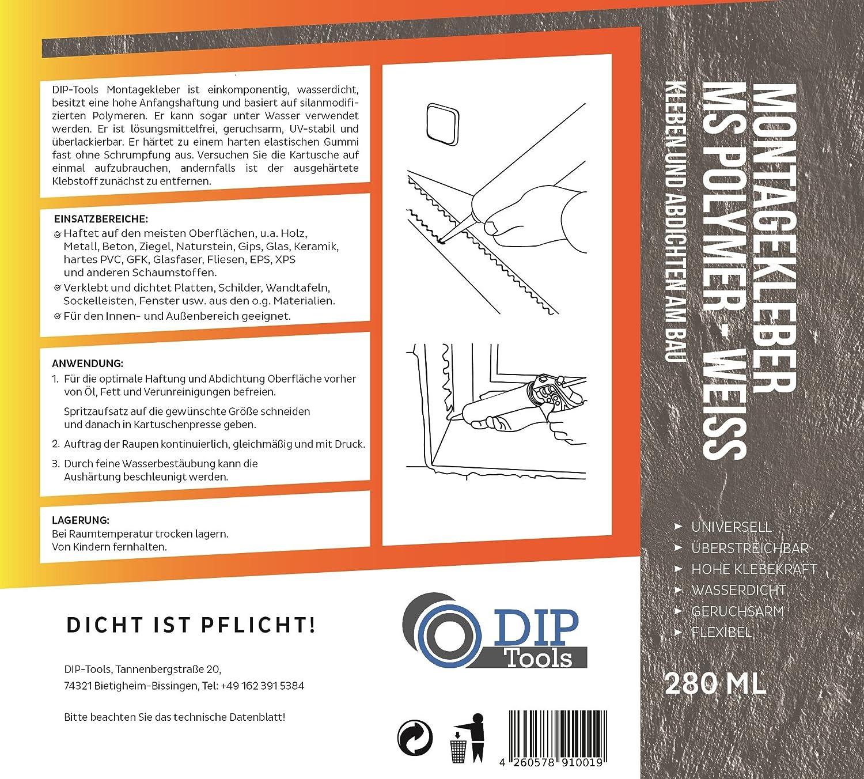 Dip Tools Montagekleber Mit Maximaler Anfangshaftung Geruchsarmer