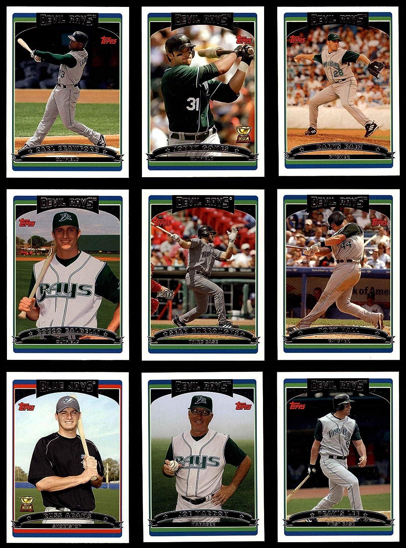 2006 Topps Tampa Bay Devil Rays Team Set Tampa Bay Devil Rays (Baseball Set) Dean's Cards 8 - NM/MT Devil Rays 919KSLLKNcL