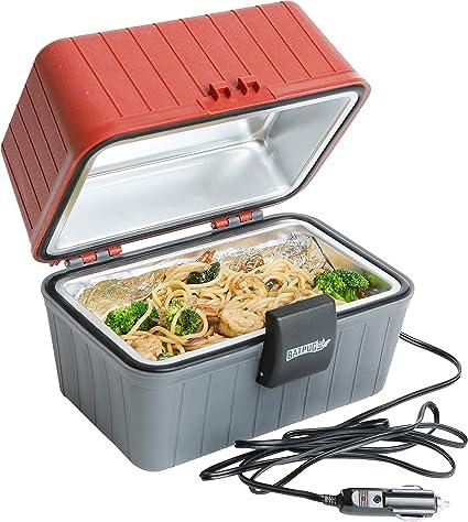 Amazon.com: Calentador de alimentos portátil Batpug 12 V ...