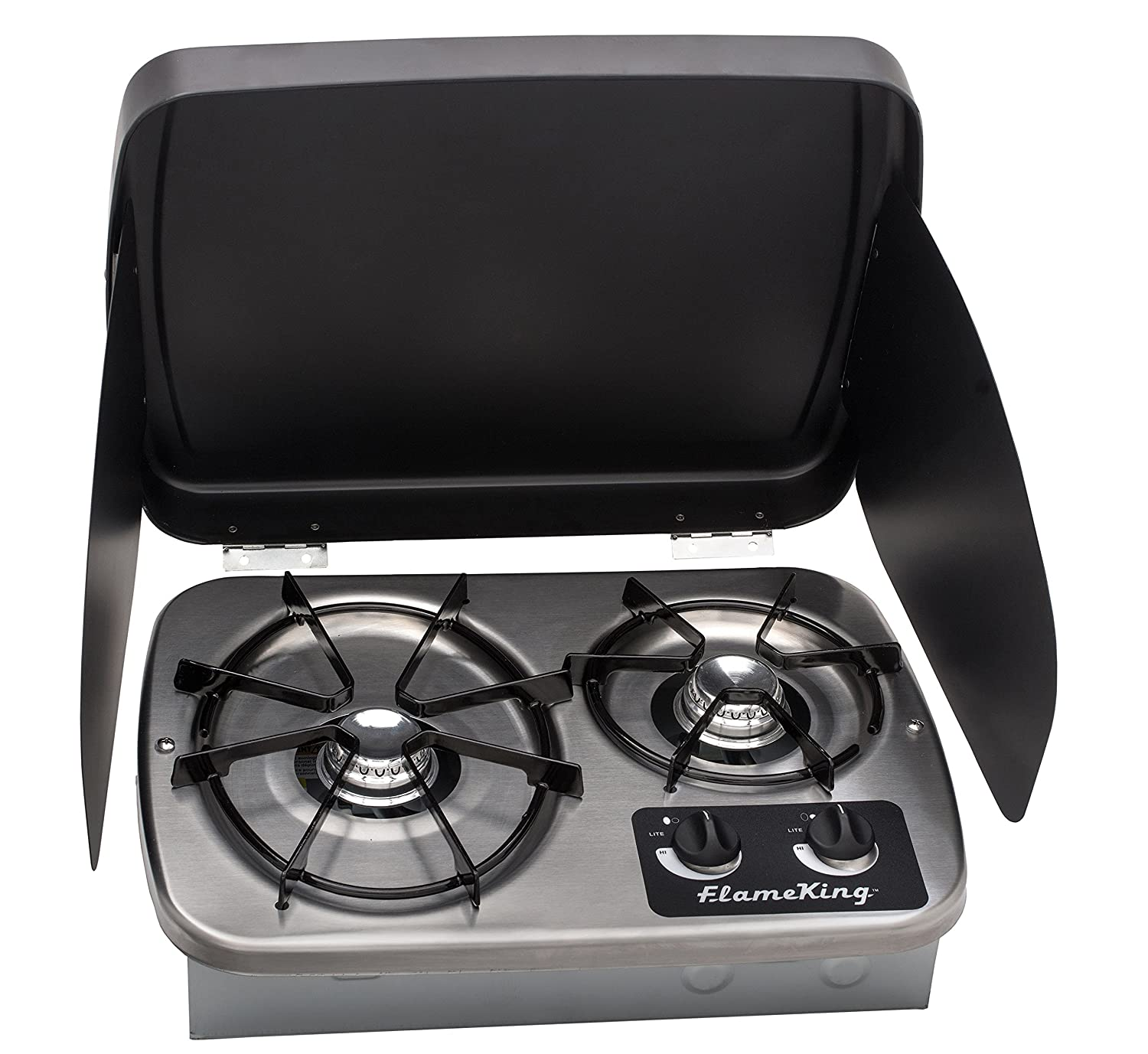 Rv Propane Stove >> Amazon Com Flame King Ysnht600 Rv Cooktop Stove Automotive