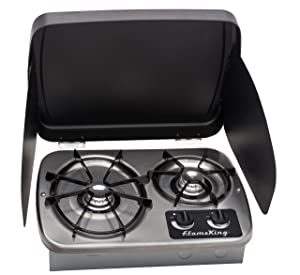 Flame King YSNHT600 RV Cooktop Stove