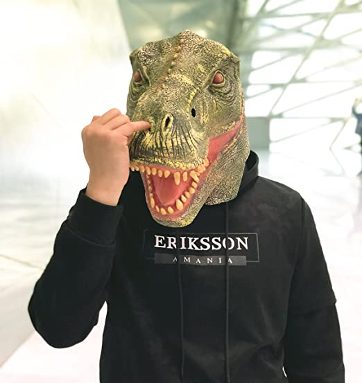 amazlab dinosaur mask for halloween costume party decorations halloween props halloween supplies