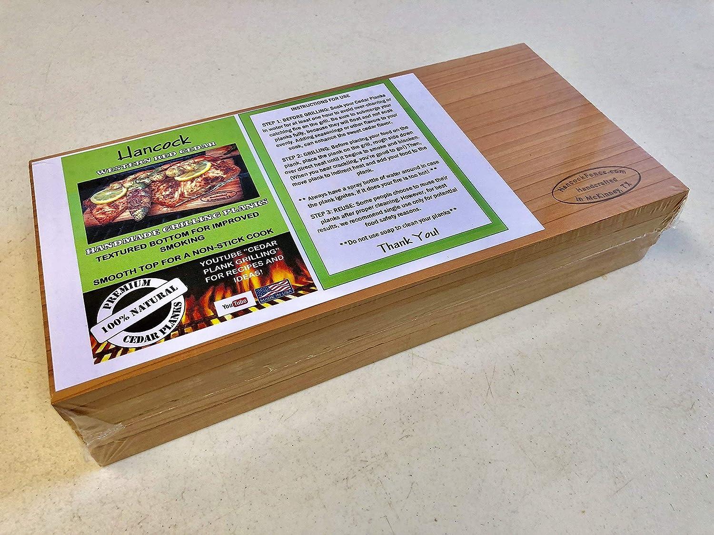 Hancock Handmade Western Red Cedar Grilling Planks