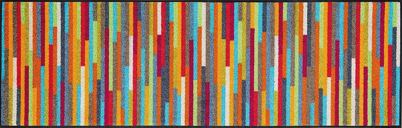 Wash+dry 060840 Fußmatte Mikado Stripes 60 x 180 cm