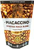 Macaccino: Original Mocha - Medium Roast Coffee Alternative, Superfood base - 30 Servings! (Premium Roasted Maca Blend)