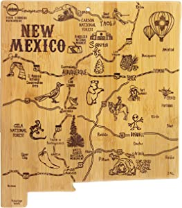 Totally Bamboo New Mexico State Destination Bamboo Serving and Cutting Board