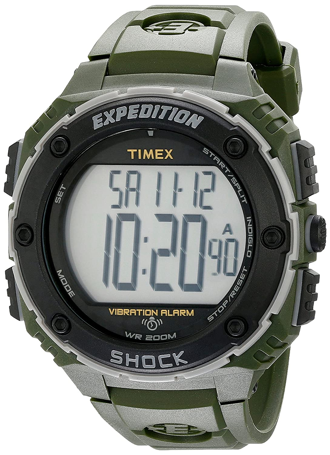 Timex Men's T499519J Expedition Shock XL Green Resin Watch