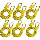 Bungee Cord with Carabiners Super Long 60"