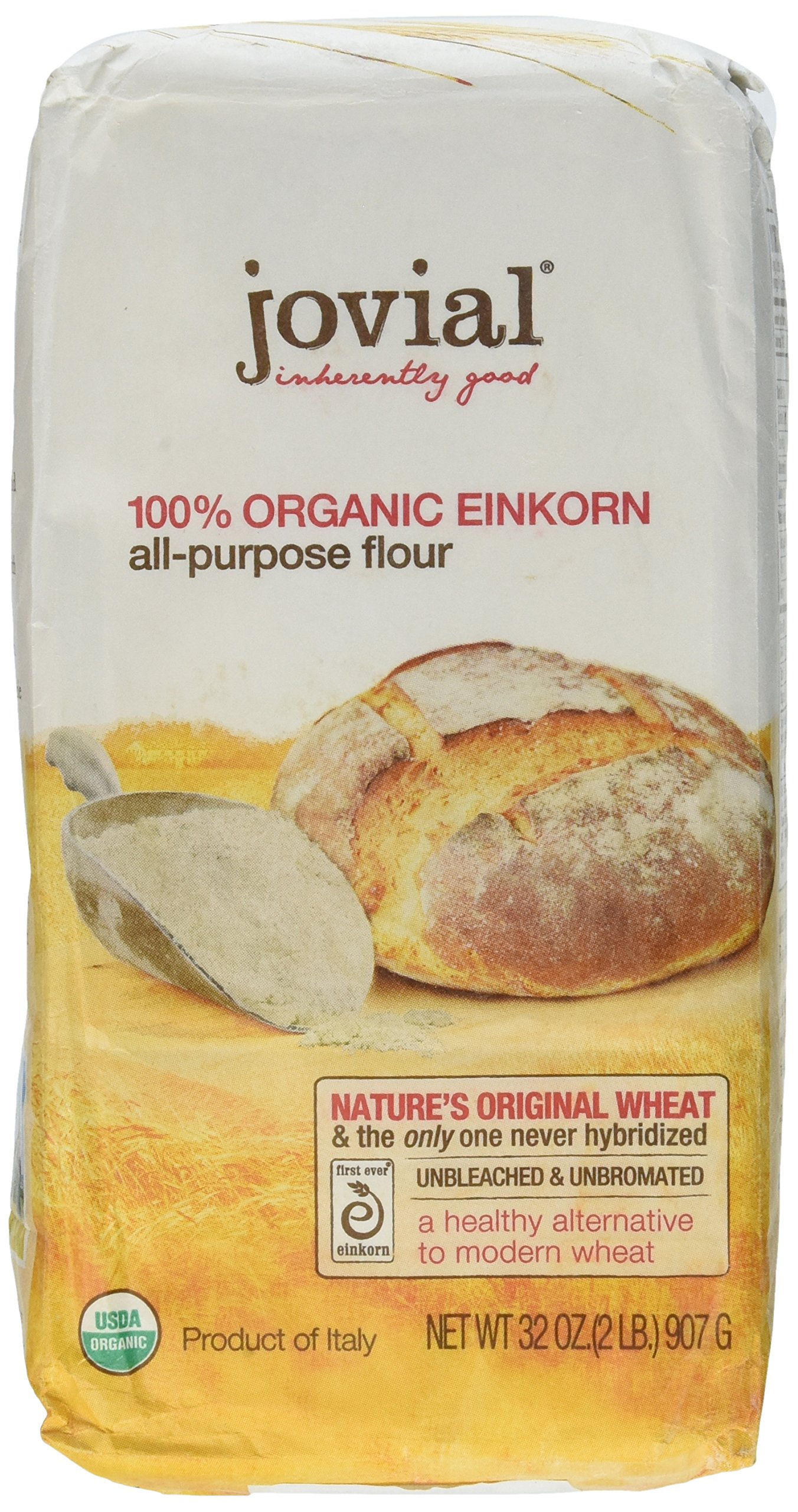 Jovial Organic Einkorn Flour (Pack of 4)